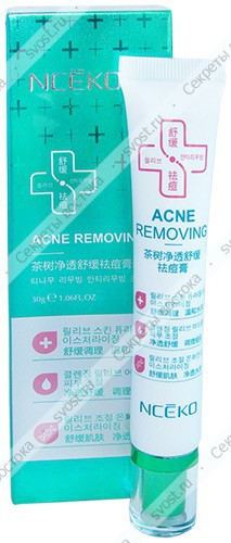 Крем для лица для ухода за проблемной кожей Nceko Acne Removing, 30 г.